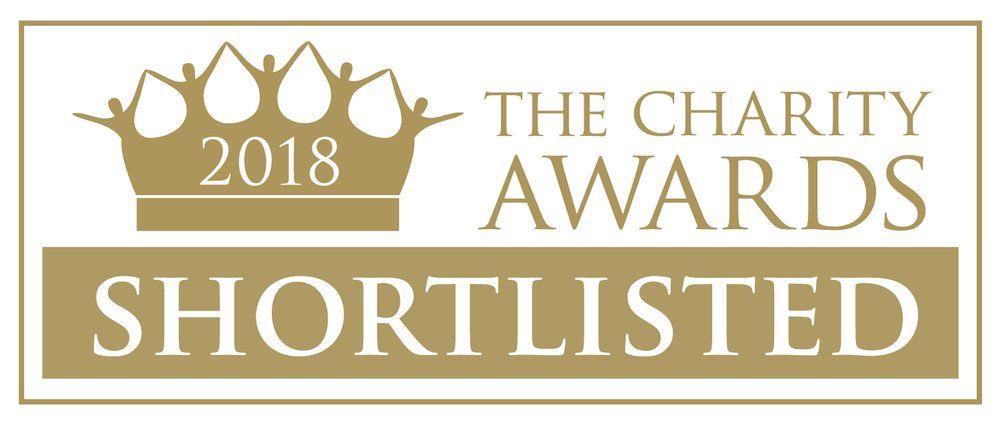 Charity Awards shortlisted