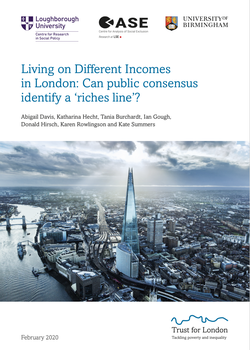 Living on Different Incomes in London cover image