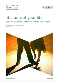 The Time of Your Life report cover, Resolution Foundation - July 2020