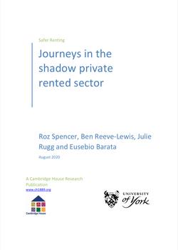 Safer Journeys PRS cover